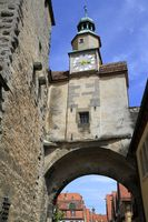 Marcus Tower in Rothenburg ob der Tauber