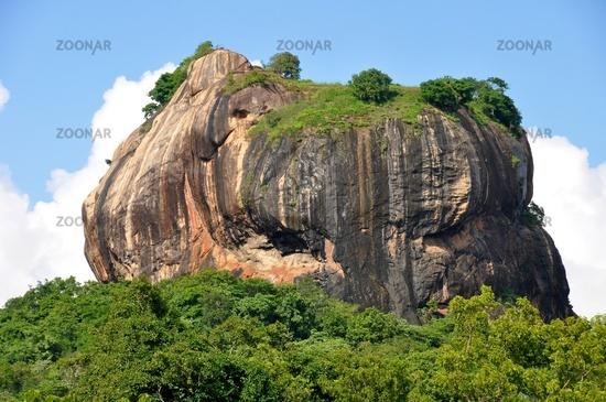 Sigiriya-Felsen in Sri Lanka