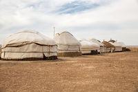 Yurt camp, Uzbekistan