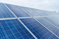 solar panel closeup