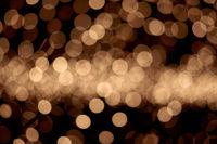 golden christmas lights background