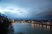 Panoramic view of Basel, Switzerland