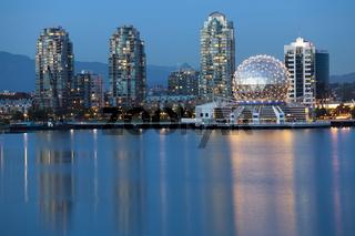 Vancouver B.C., Canada Skyline, skyline photography