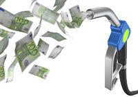 zapfhahn mit euroscheinen