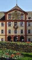 Schloss auf der Insel Mainau am Bodensee; Deutschland