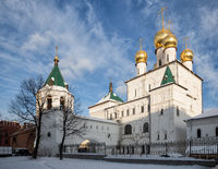 Restored ancient Feodorovsky Cathedral