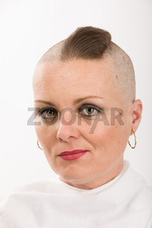 beautiful woman cancer patient