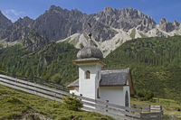 Kapelle im Karwendelgebirge