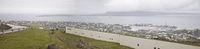 Panorama von Torshavn auf den Färöer Inseln