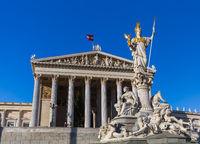 Parliament in Vienna Austria