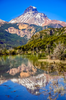 Cerro Castillo reflection
