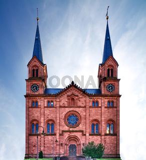 Church in Pfalz, Germany