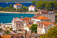 Island of Zlarin waterfront and architecture view