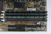 RAM Arbeitsspeicher in einem Personal Computer, PC |RAM memory in a personal computer, PC
