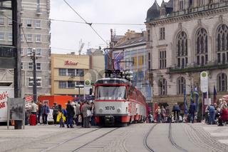 Straßenbahn in Halle (Saale)