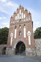 Neues Tor in Neubrandenburg, Ostdeutschland