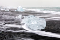Iceberg Diamond beach Iceland
