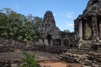 Bayon Temple At Angkor Wat, Siem Reap