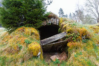 Old Root cellar that has expired