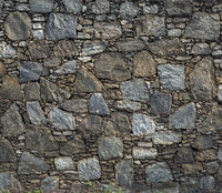 vintage stone wall texture fence architecture design