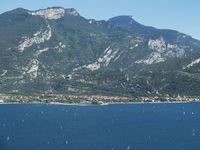 Torbole am Gardasee in Italien