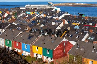 Residential area in Heligoland