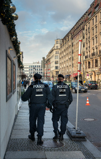 Polizeibeamte in Berlin