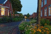 Sommerabend in Rysum, Ostfriesland