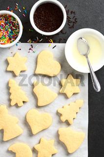 Homemade Sugar Cookies for Christmas