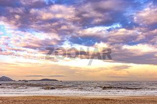 Sunrise at Ipanema