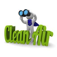 3d concept European Clean Air