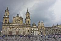 Bogota, Bolívar Square, Colombia