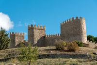 Die beeindruckende Stadtmauer von Avila