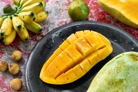 Colorful exotic fruit