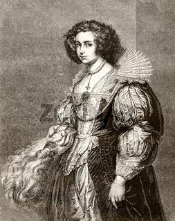 Portrait of Marie-Louise von Taxis or de Tassis