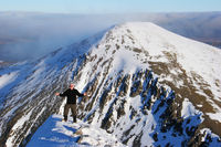 Stob Coire Easian. Scotland