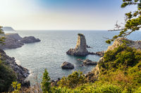 Jeju-do Oedolgae Rock, Jeju Island, South Korea