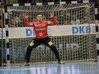 Dario Quenstedt (SC Magdeburg) beim DKB-Handball Punktspiel SC Magdeburg - Frisch Auf Göppingen am 22.02.2018 in Magdeburg
