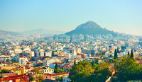 Athens and Mount Lycabettus