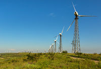 Wind power stations on Crimean peninsula
