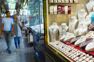 Luxury jewelry shop. Tehran market