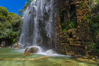 Waterfall in Nice France