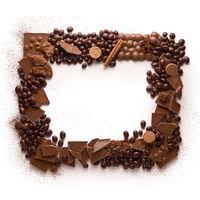 Chocolate frame.