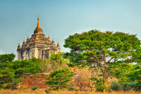 Thatbyinnyu Temple in Bagan.
