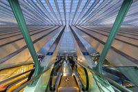 Bahnhof Liege Guillemins Lüttich Station Santiago Calatrava Belgien