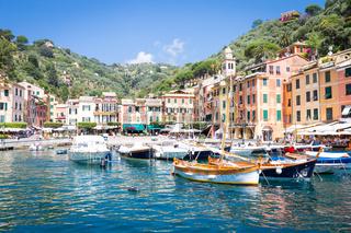 Portofino, Italy - Summer 2016 - view from the sea
