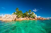 St. Pierre Island at Seychelles