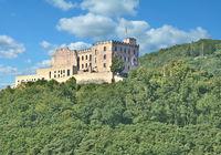 das Hambacher Schloss bei Neustadt an der Weinstrasse,Rheinland-Pfalz,Deutschland