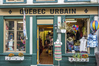 Colourful Shop In The Lower Old Town Quebec City, Canada