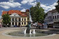 Stadtzentrum Nikolaiken